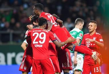 Celebración del Bayern Munich |AFP.