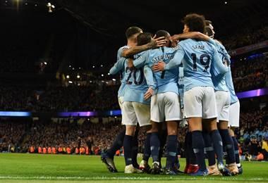 Manchester City celebra |Facebook Premier League.