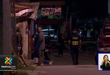 De dos balazos asesinaron a un joven este domingo en Pavas