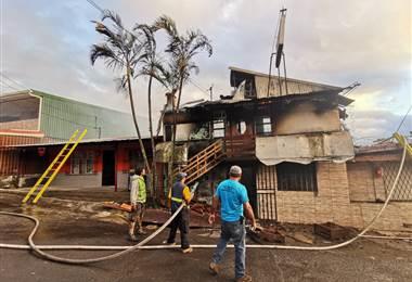 Incendio Concepción Abajo de Alajuelita
