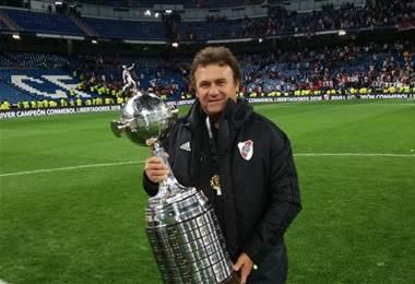 Marcelo Tulbovitz se coronó campeón de Libertadores con River Plate.|Cortesía Marcelo Tulbovitz