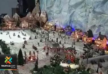 maginación sobresale entre quienes participan en el concurso de portales navideños de San José