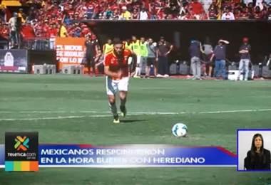 Mexicanos de Herediano se convirtieron en protagonistas en la fase final
