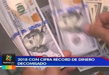2018 cerrará con cifra record de dinero obtenido por casos de narcotráfico