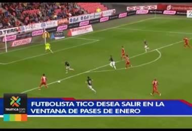 Deyver Vega podría abandonar el fútbol de Noruega