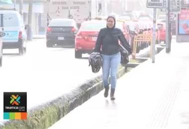 Empuje frío causa fuertes vientos en varias zonas del país