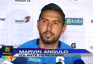 Marvin Angulo critica fuertemente el estilo del Herediano: 'solo juegan a pelotazo'