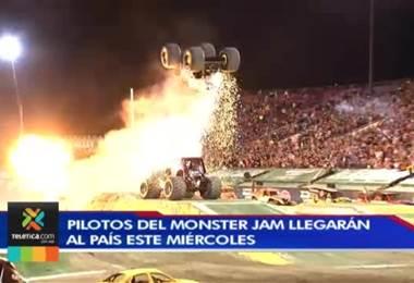 Pilotos del Monster Jam llegarán al país con la ilusión de dar un gran espectáculo