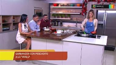 """Receta: Garbanzos con pescadito a lo """"Vivilú"""""""