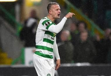 Leigh Griffiths, jugador del Celtic de Escocia.|AFP