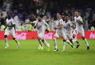 Al Ain venció en penales al Wellington en el debut del Mundial de Clubes.|AFP