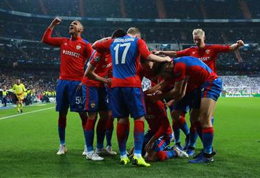 CSKA de Moscú goleó al Real Madrid en el Bernabéu.|Champions League