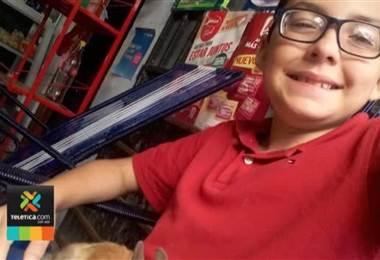 Gael a sus 11 años es un niño multifacético que se dedica a sacar sonrisas