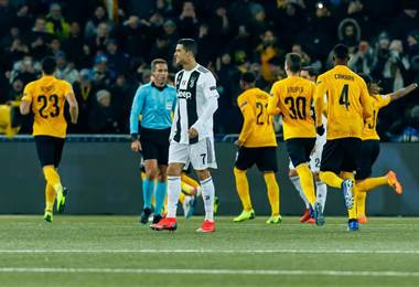 El Young Boys sorprende 2-1 a una Juventus que termina primera de grupo.|UEFA Champions League