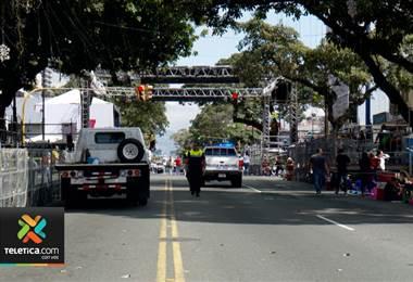 Este miércoles iniciaron los cierres viales en Paseo Colón por el Festival de la Luz