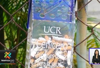 UCR impulsa prototipos de ceniceros para no ensuciar aún más ríos y mares