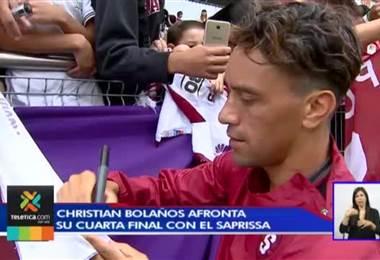 Christian Bolaños llega a la final nacional como el jugador más regular de Saprissa