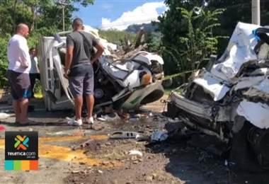 Exceso de velocidad sería la causa del aparatoso accidente este jueves en Osa