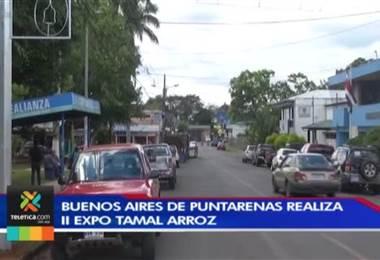Buenos Aires de Puntarenas realiza por segundo año consecutivo la Expotamal de arroz