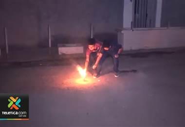 Negligencia de padres e inocencia de niño son las principales causas de quemaduras con pólvora