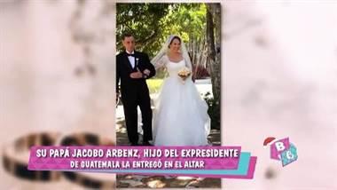 Kathryn Arbenz se casó con el brasileño Mauro Silva De Oliveira