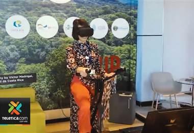 Biodiversidad de Costa Rica llega a Egipto por medio de gafas de realidad virtual