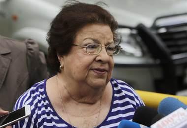 Vilma Núñez. AFP. Presidenta ONG de Derechos Humanos en Nicaragua