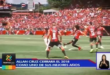 Allan Cruz cerrará un año muy exitoso en su carrera deportiva