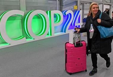 COP24 que se realiza en Polonia.|AFP