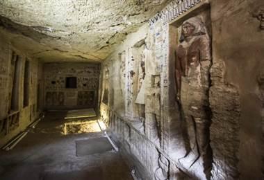 Tumba de un sacerdote en Egipto