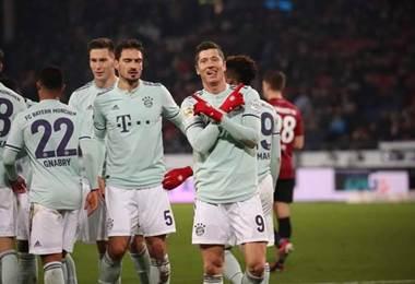 Tomada del Facebook del Bayern Múnich