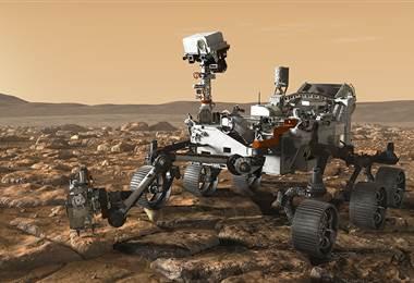 El nuevo vehículo que recorrerá Marte
