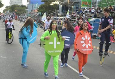 Cruz Roja brindará sus servicios en el Festival de la Luz