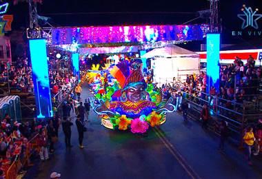 Carrozas Festival de la Luz 2018