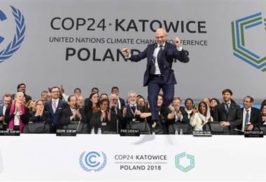 Acuerdo calentamiento global