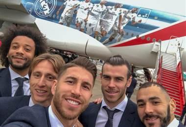 Tomada del Facebook del Real Madrid