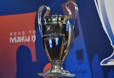 Trofeo Champions League. AFP