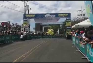 Efrén Santos de México gana segunda etapa de la Vuelta a Costa Rica