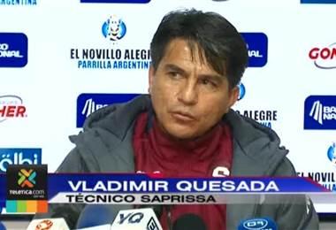 Vladimir Quesada afirma que Saprissa mereció mucho más en el Rosabal Cordero