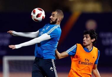 Karim Benzema y Jesús Vallejo, jugadores del Real Madrid.|realmadrid.com