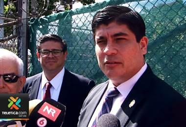 Carlos Alvarado todavía no escoge Canciller tras salida de Epsy Campbell