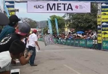 Ruso Artur Ershov ganó la tercera etapa de la Vuelta a Costa Rica 2018. Andrés González