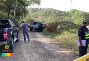 Autoridades investigan hallazgo de cadáver con impactos de bala en Guanacaste