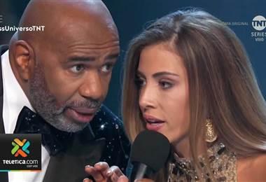 Natalia Carvajal acaparó titulares en todo el mundo por su actitud en Miss Universo