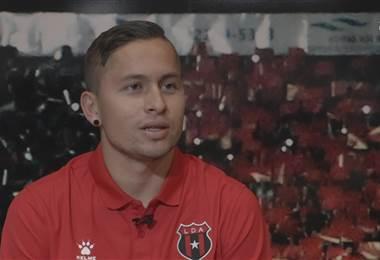 Anthony López, jugador de Alajuelense.|Prensa lda.cr