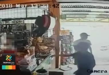 OIJ de Siquirres busca a varios asaltantes que fueron captados en video