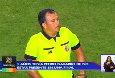 Pedro Navarro será el encargado de arbitrar la final nacional