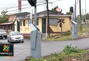 Incofer reportó este miércoles el robo de una aguja ferroviaria en Cartago