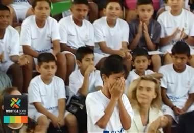 Seis jóvenes de Heredia harán realidad su sueño de conocer el estadio del Real Madrid