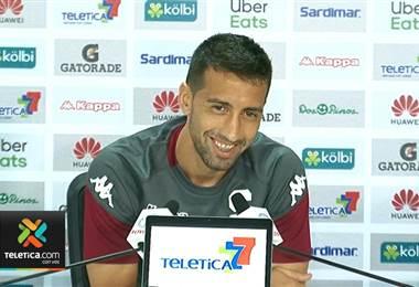 Mariano Torres no le ha podido marcar a Herediano y lo buscará en la lucha por el título
